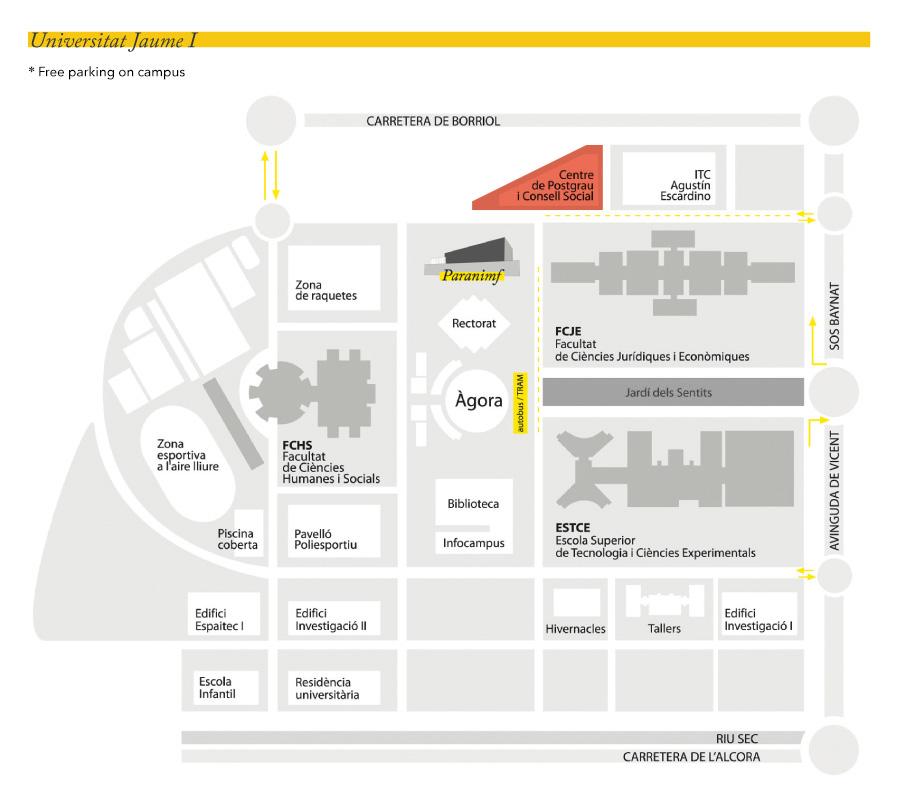 Edifici Centre de Postgrau i Consell Social. Campus de Riu Sec. Universitat Jaume I